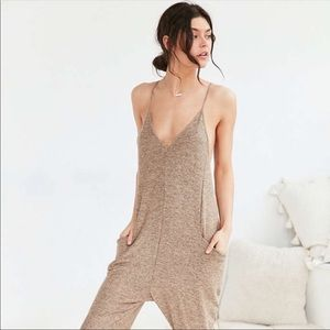Out from Under spaghetti strap jumpsuit romper XS